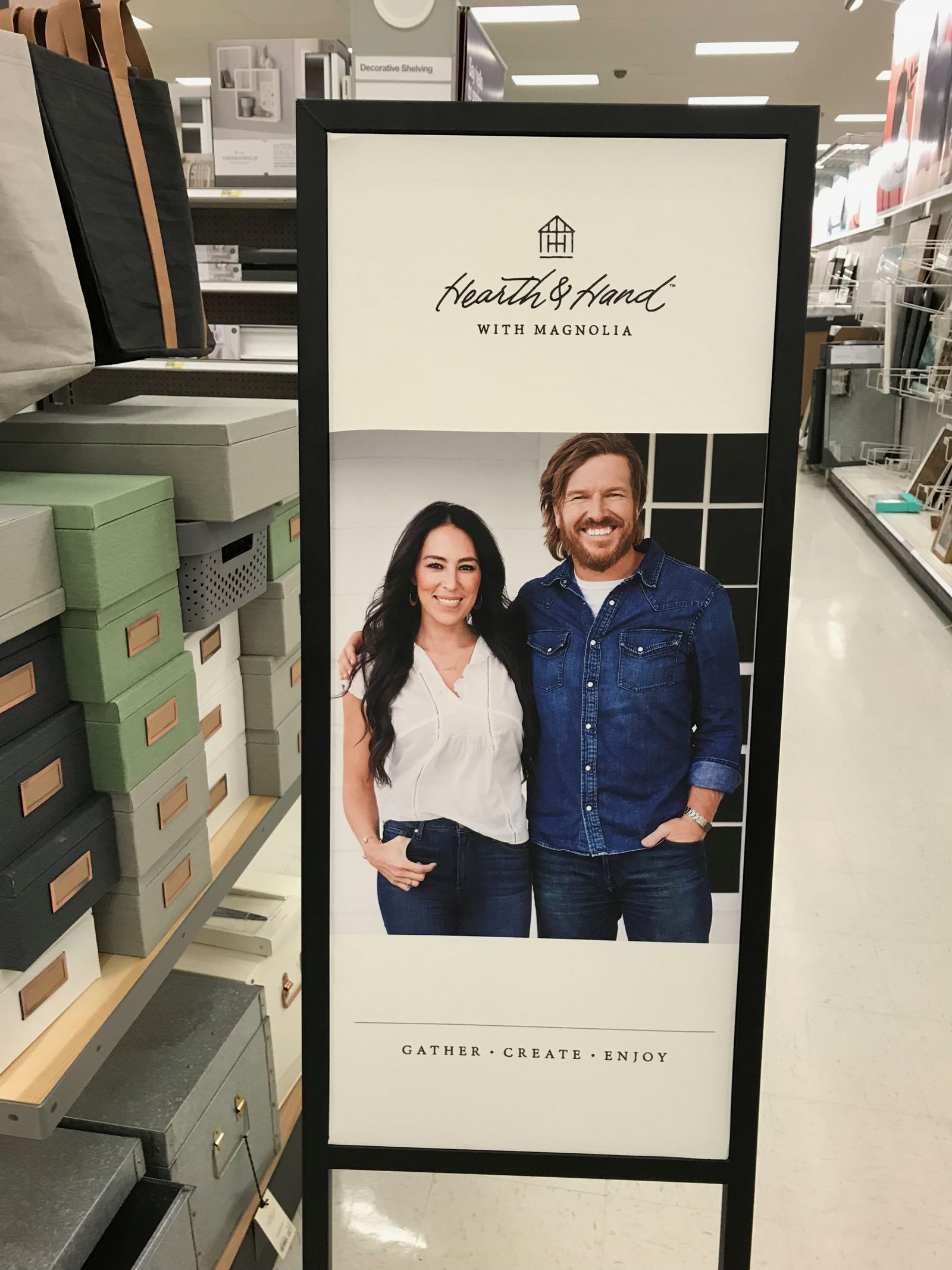 See in-store photos of Hearth and Hand by Magnolia at Target.