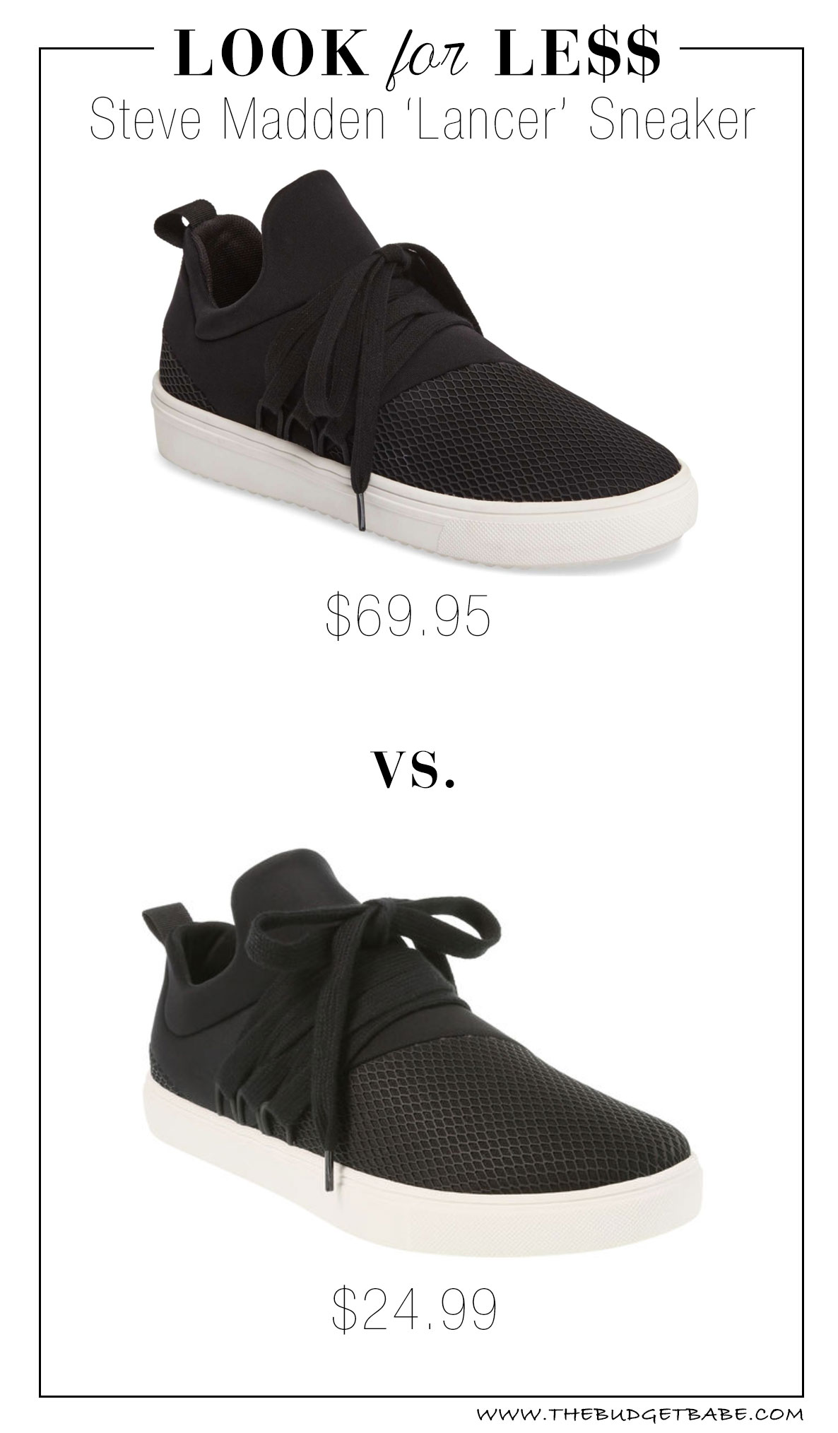 Steve Madden 'Lancer' dupes at Payless for half the price!