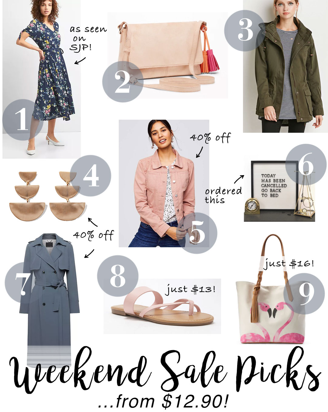 Best weekend sales to shop now! Finds from $12.90