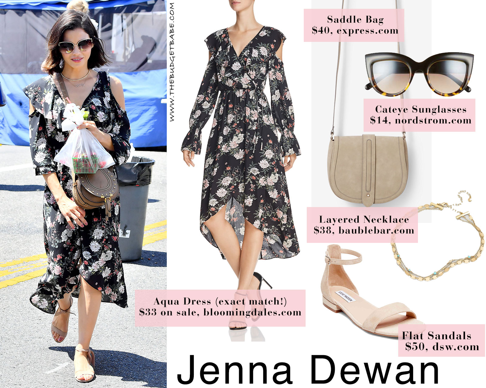 2cbf0323b8df99 Jenna Dewan s exact dress is just  33 on sale