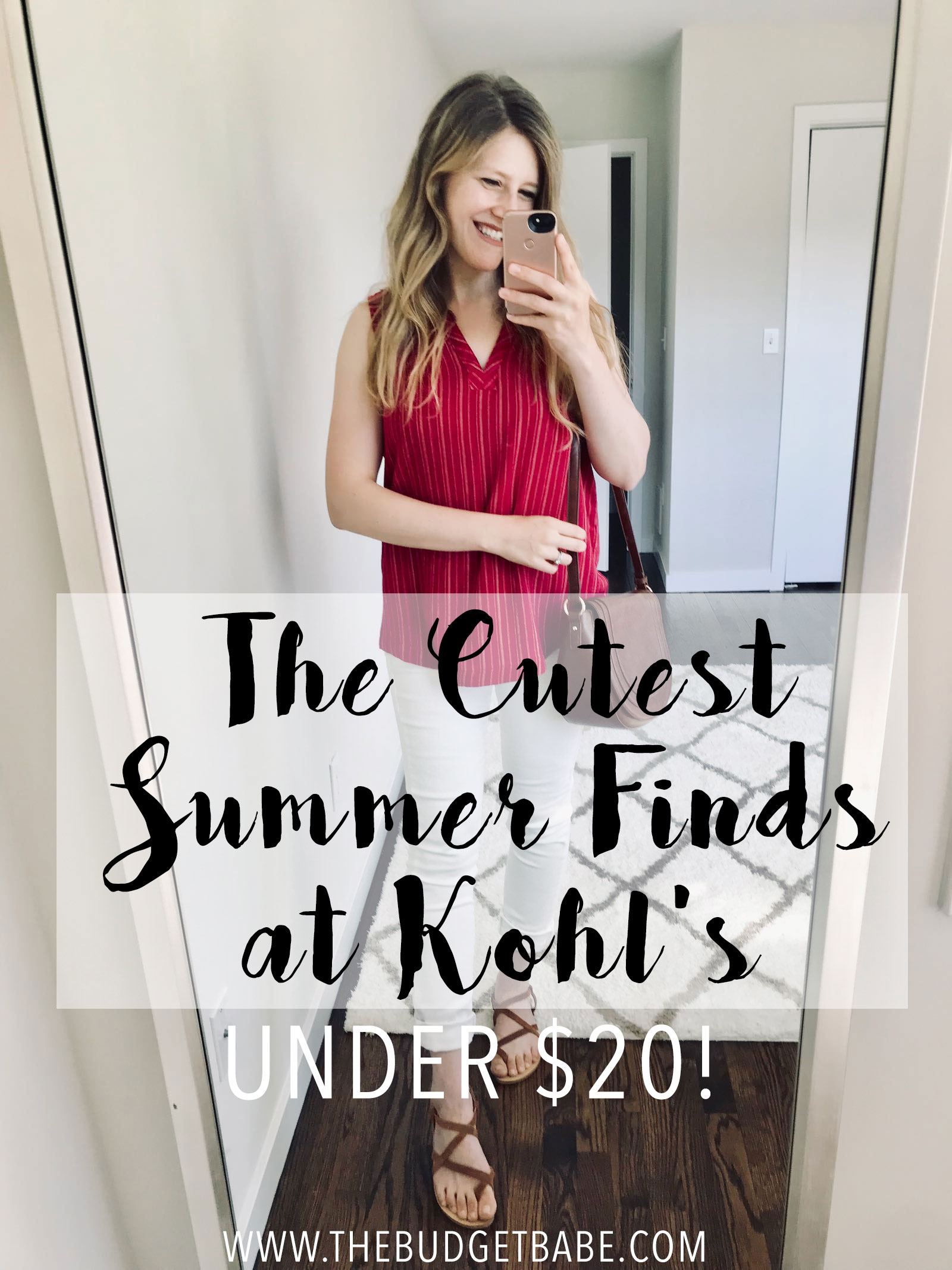 The cutest tops, shorts and white jeans at Kohl's - each under $20!