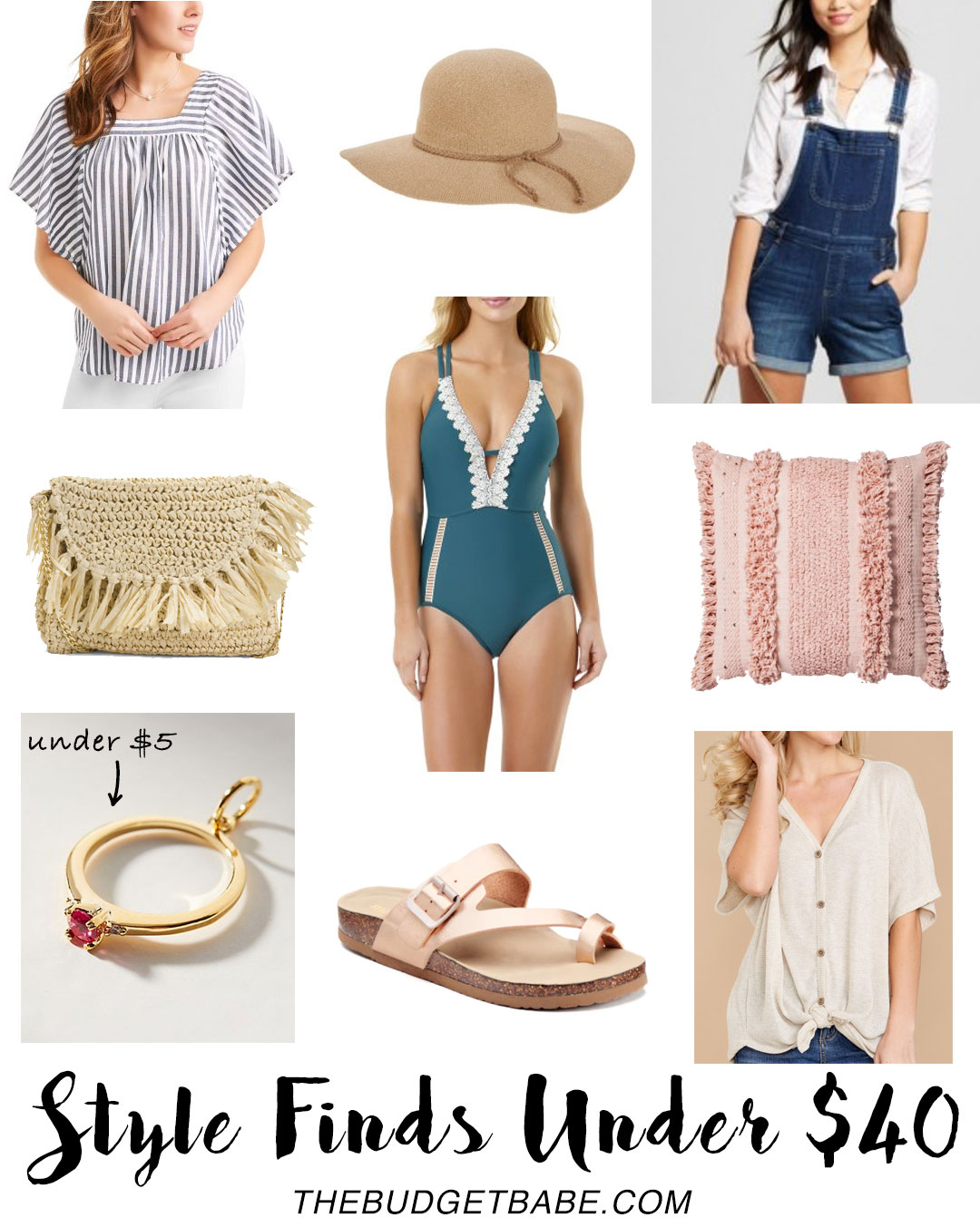Style Finds Under $40 - now this is a budget fashion blog for real!