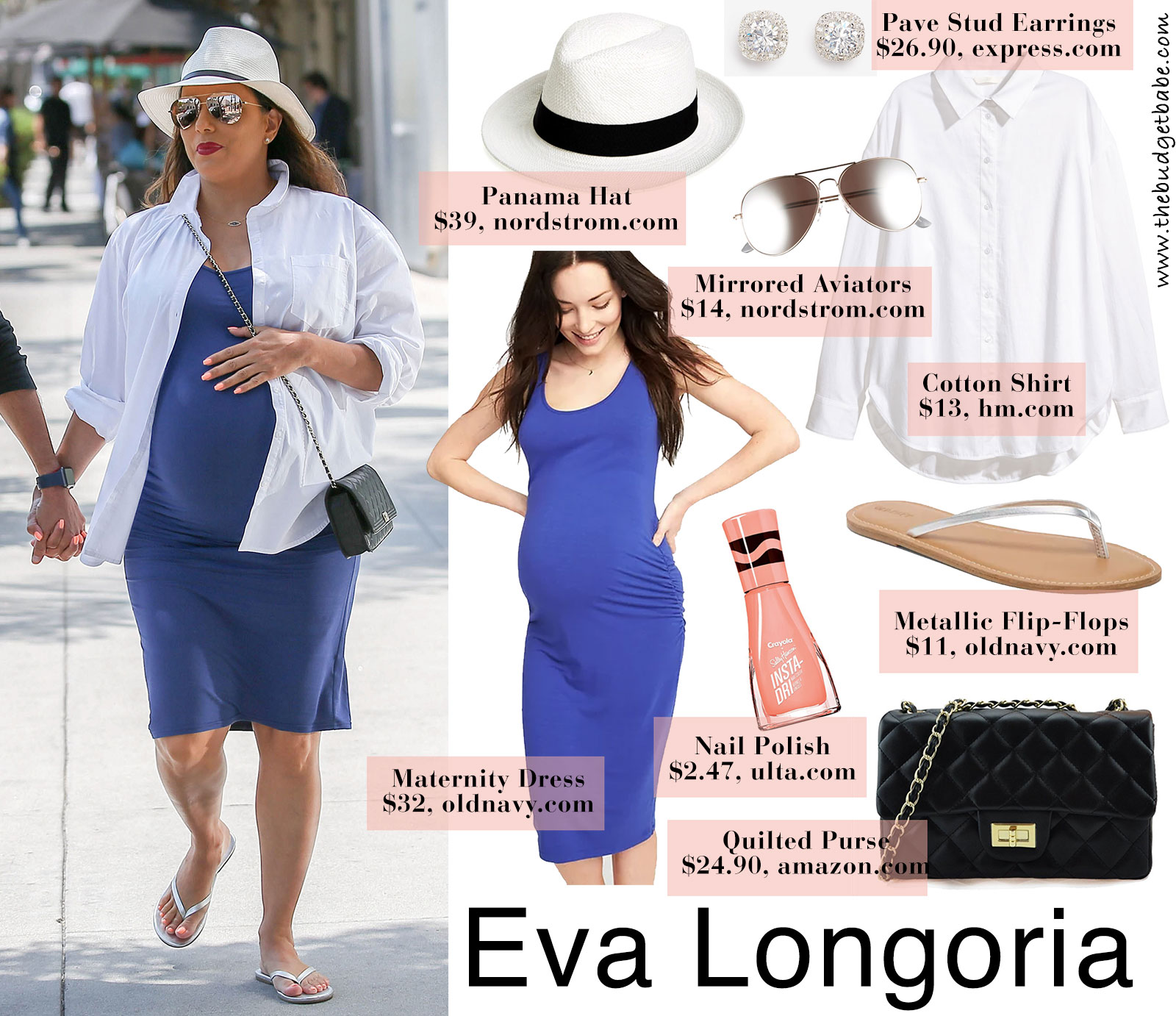 f194f74394edf Celebrity Maternity Fashion Tips On A Budget