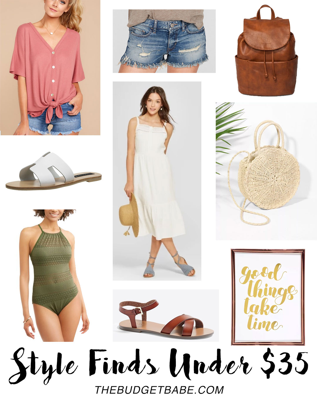 Style Finds Under $35 on The Budget Babe fashion blog