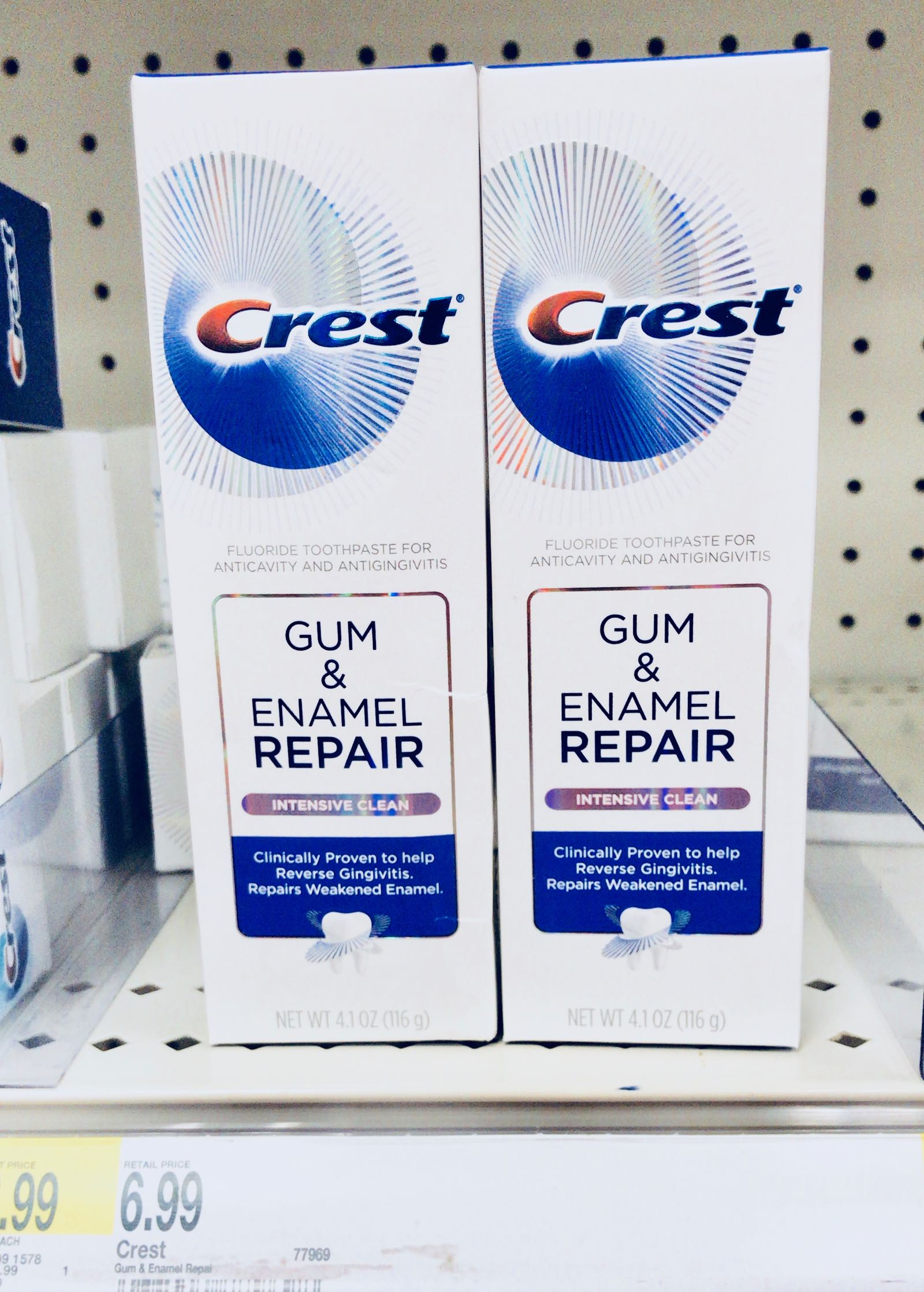 Save $2 on new Crest Gum and Enamel Repair at Target - click here to get the deal!