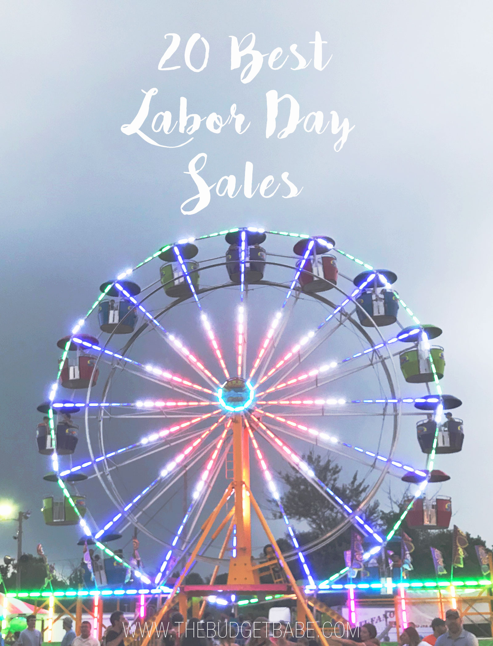 Labor Day Sales Round Up! Lots of stores I didn't think to check