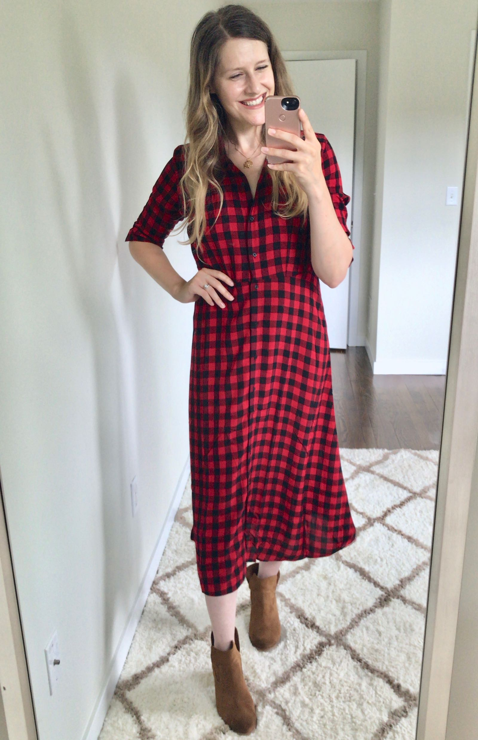 Time and Tru at Walmart dress just $18!