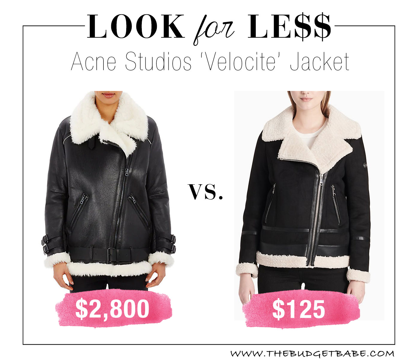 Acne Studios Velocite Jacket look for less
