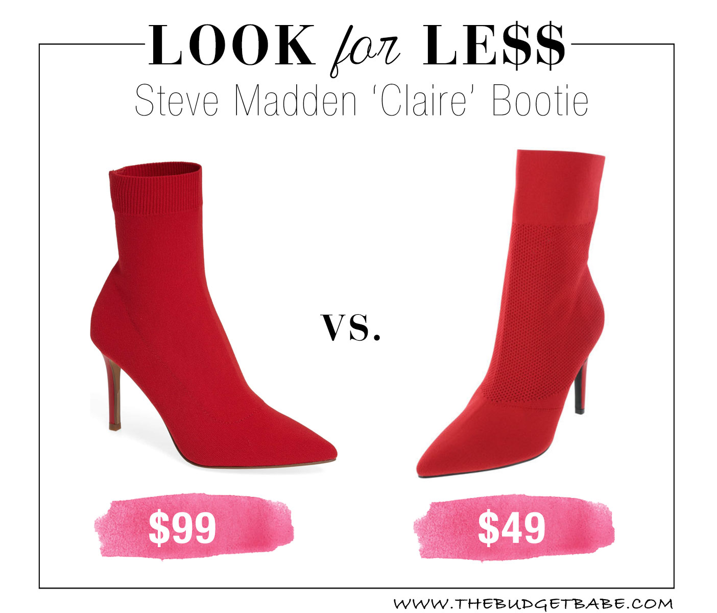 Steve Madden dupes at Payless!!