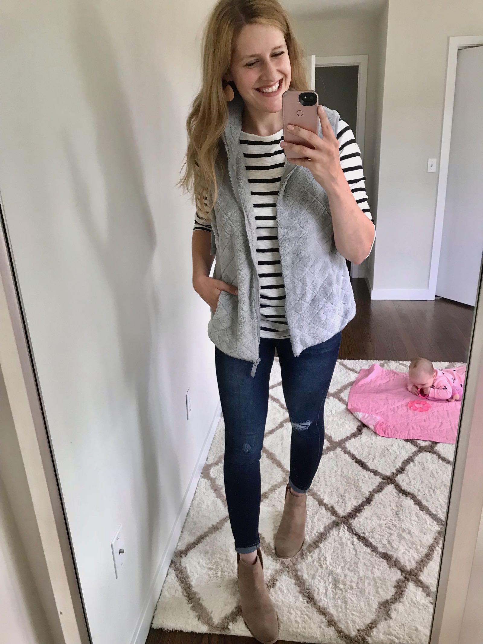 Love this vest just $10 at Walmart!