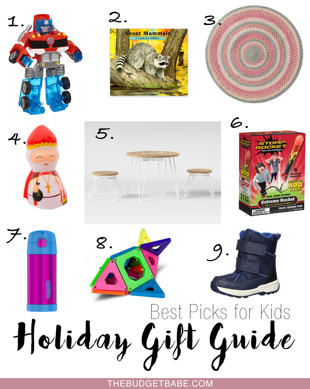 Holiday gift ideas from a mom of three!