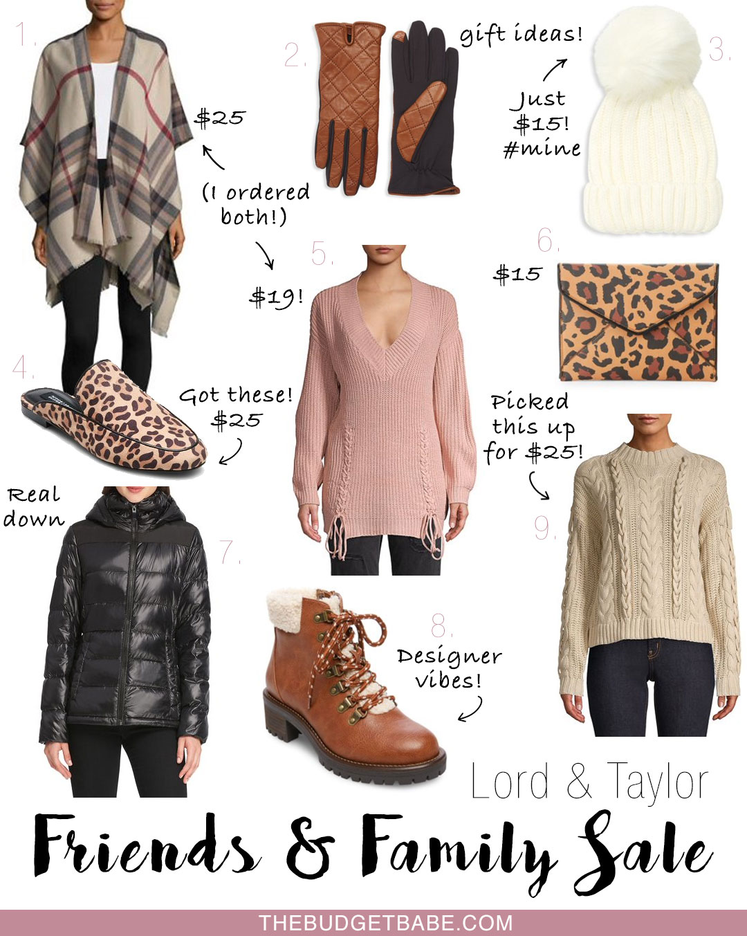 Lord & Taylor Friends and Family Sale - 30% off premium brands!