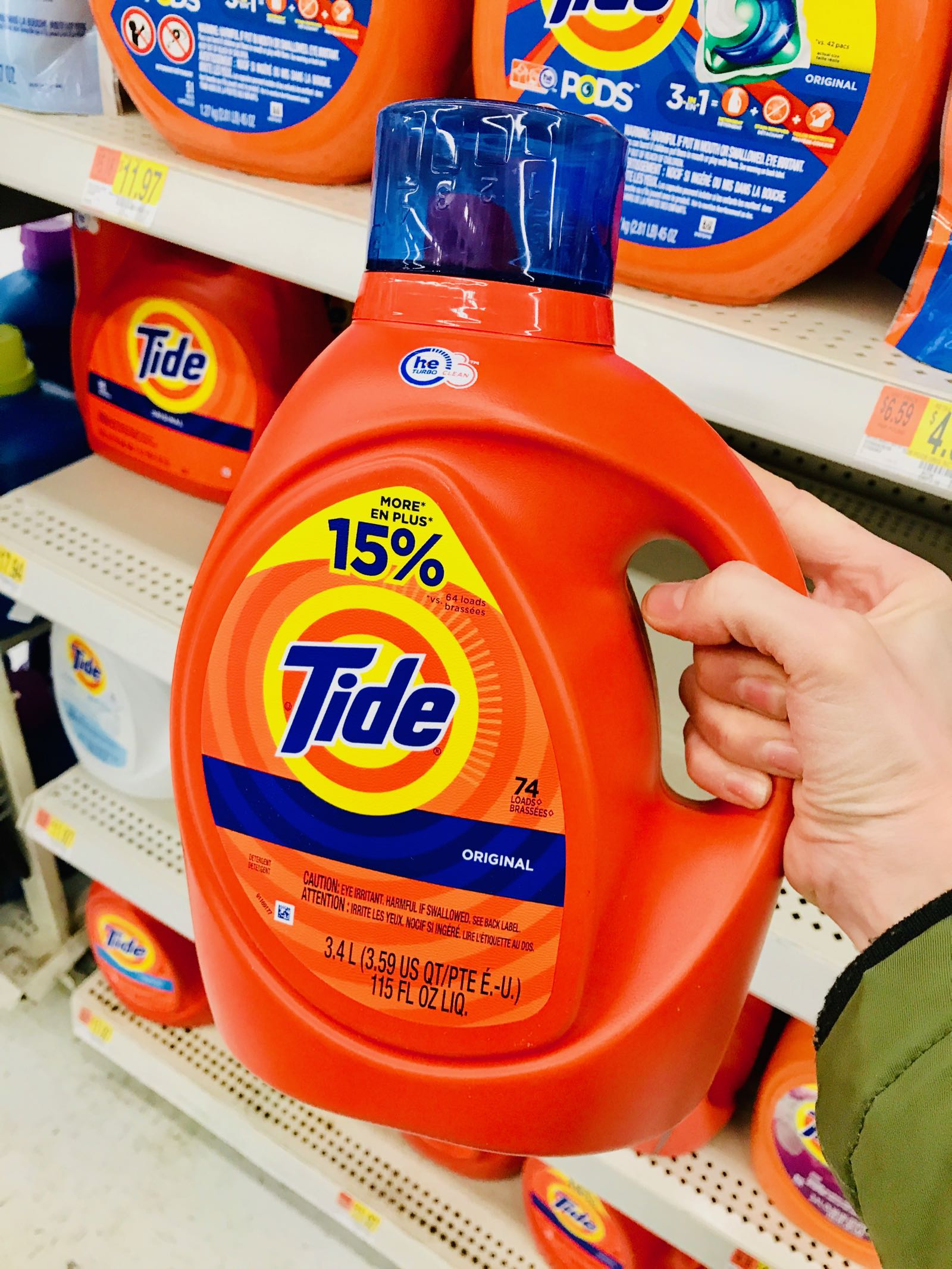 #ad Save $3 on Tide PODS! Click here to print your coupon!
