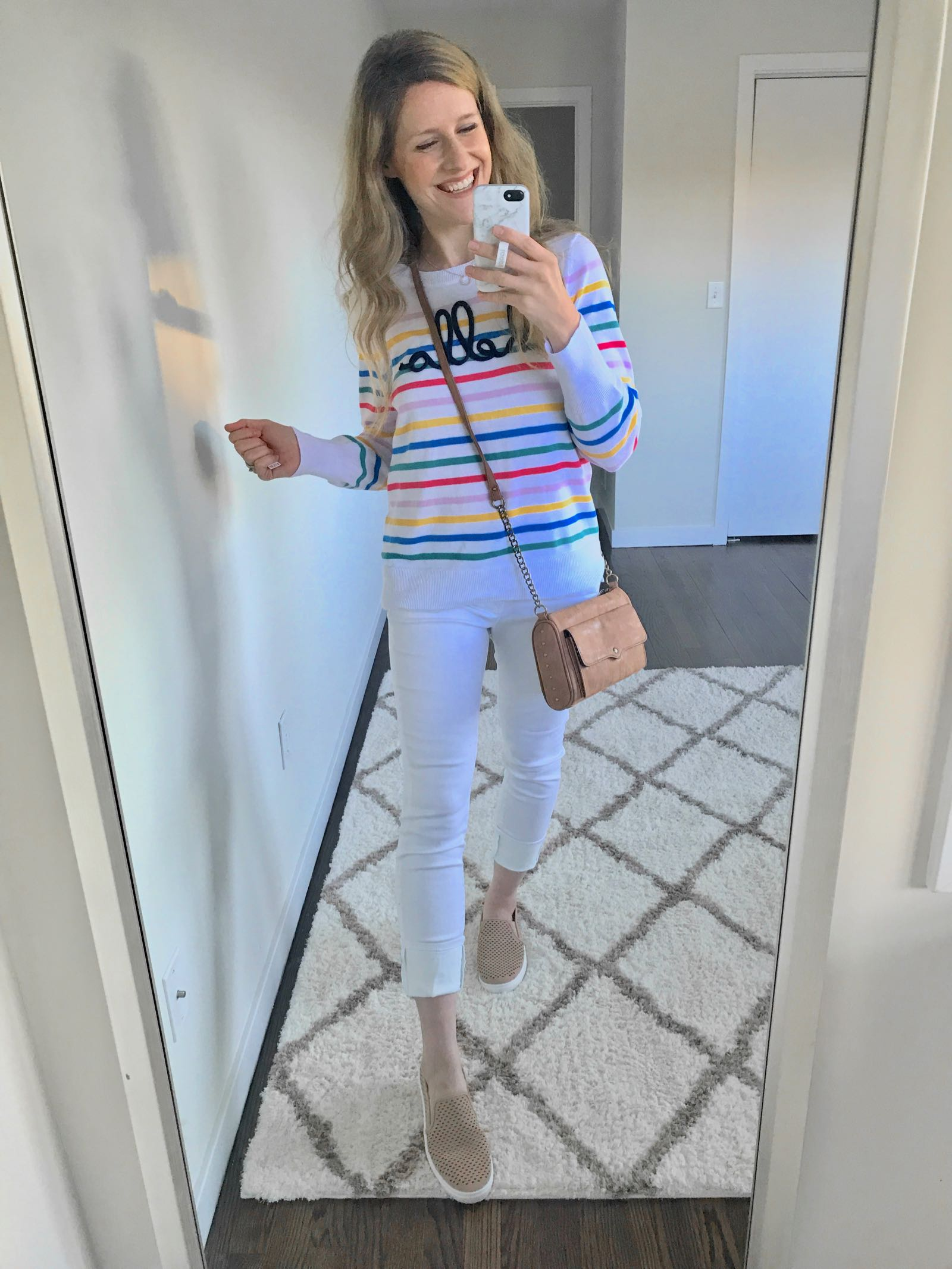 2fc4525acd Spring Must-Have: Walmart 'Hello' Sweater - The Budget Babe ...