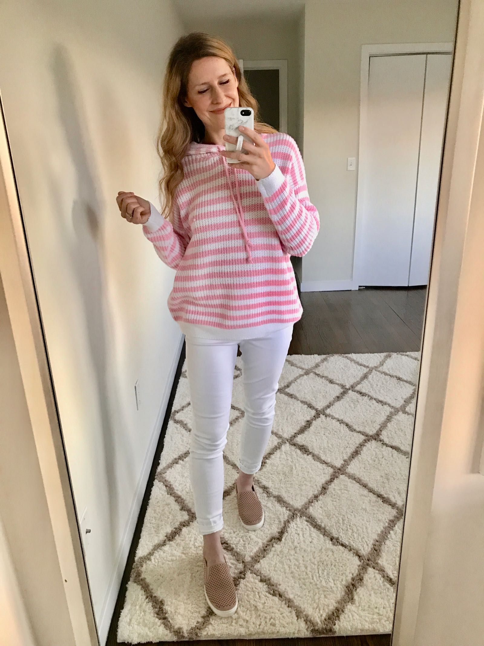 This whole outfit is under $50 at Walmart!
