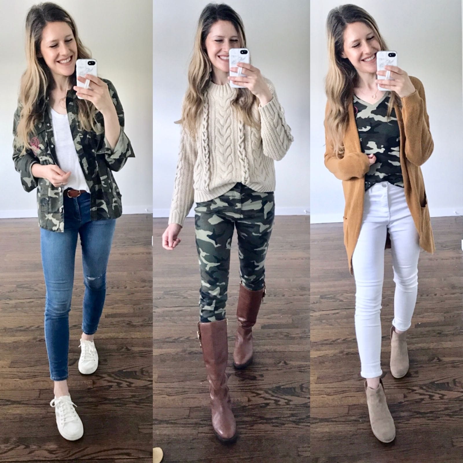 #ad 3 ways to wear camo! All at Walmart