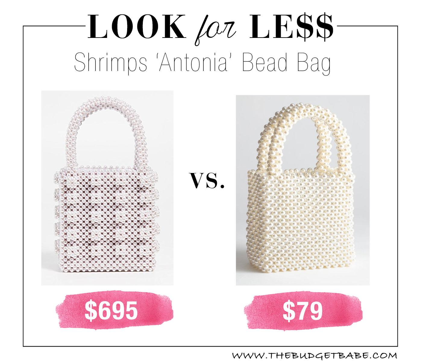 Shrimps Antonia bead bag dupe