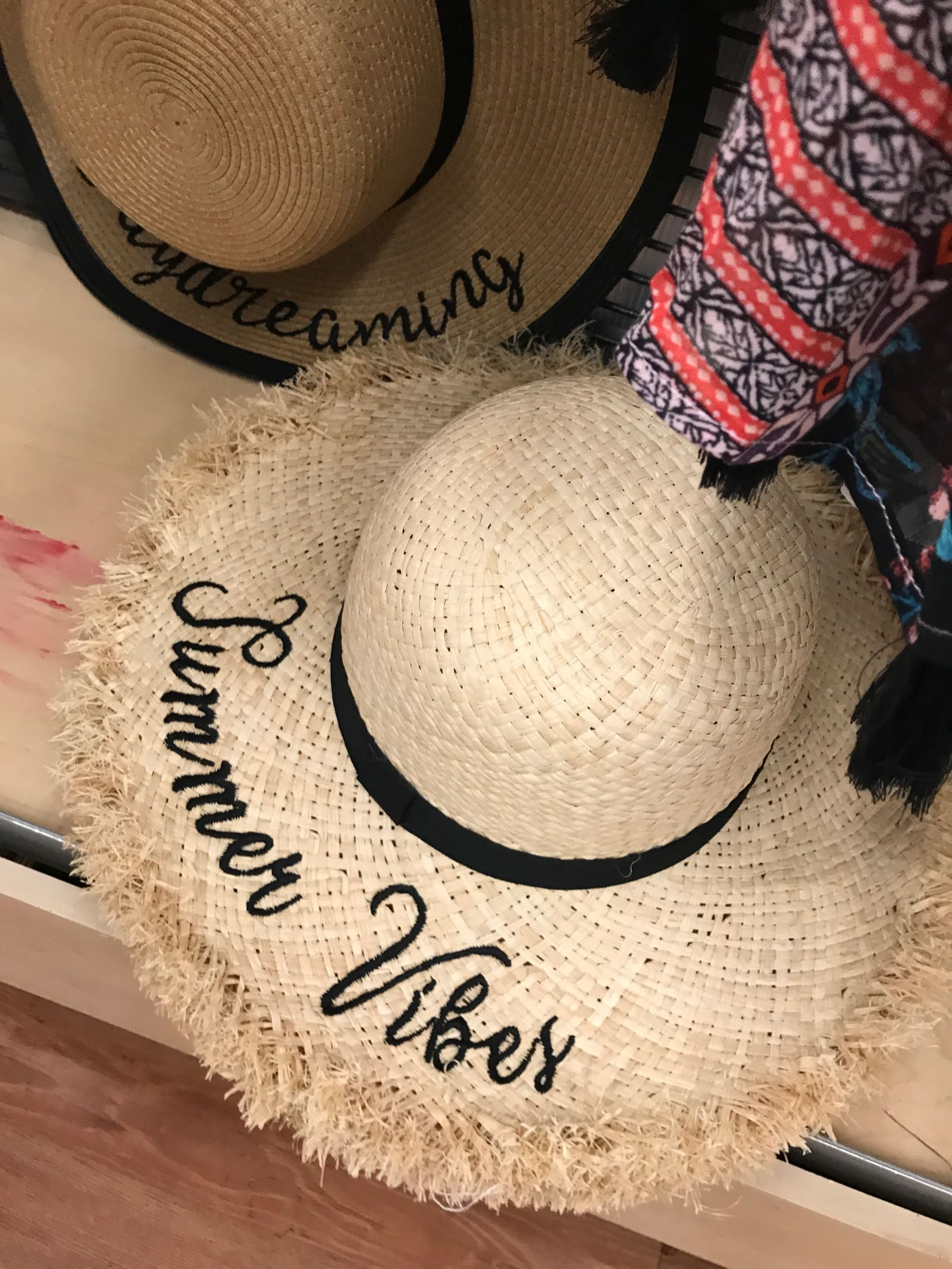 Summer vibes straw hat! Need this for the beach