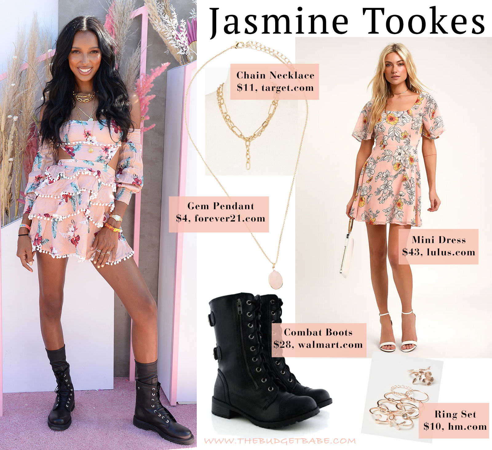 Jasmine Tookes at Coachella, love her style