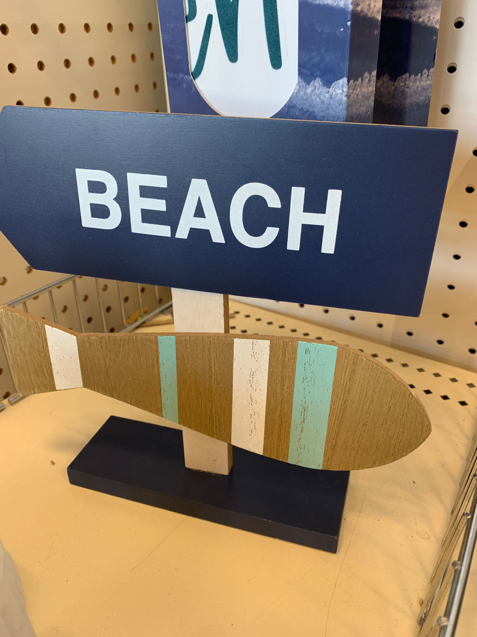 Cute nautical decor at Target in the dollar spot!