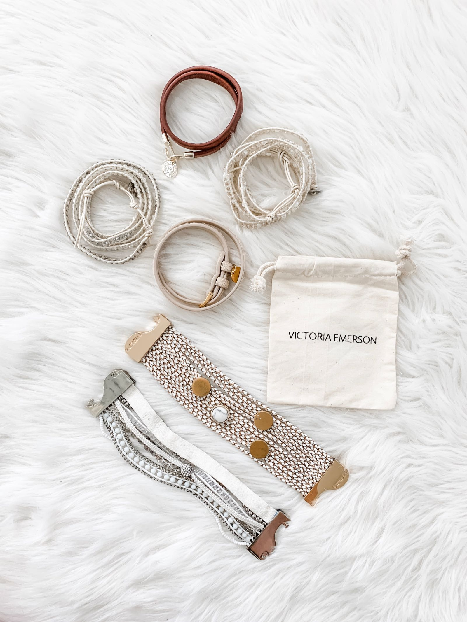 Victoria Emerson wrap bracelets are on MAJOR sale!