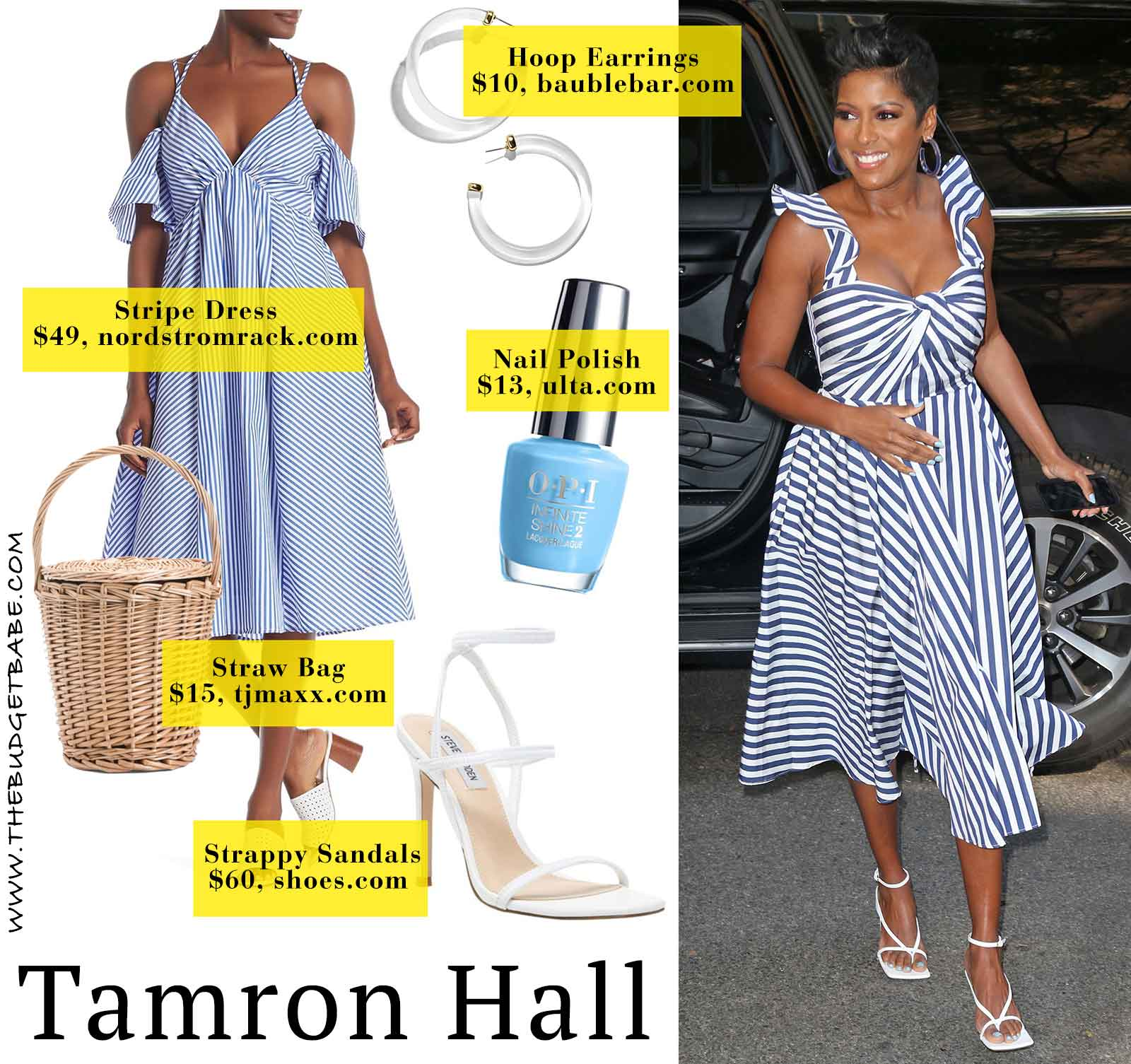 Tamron Hall in Jason Wu - love this look!