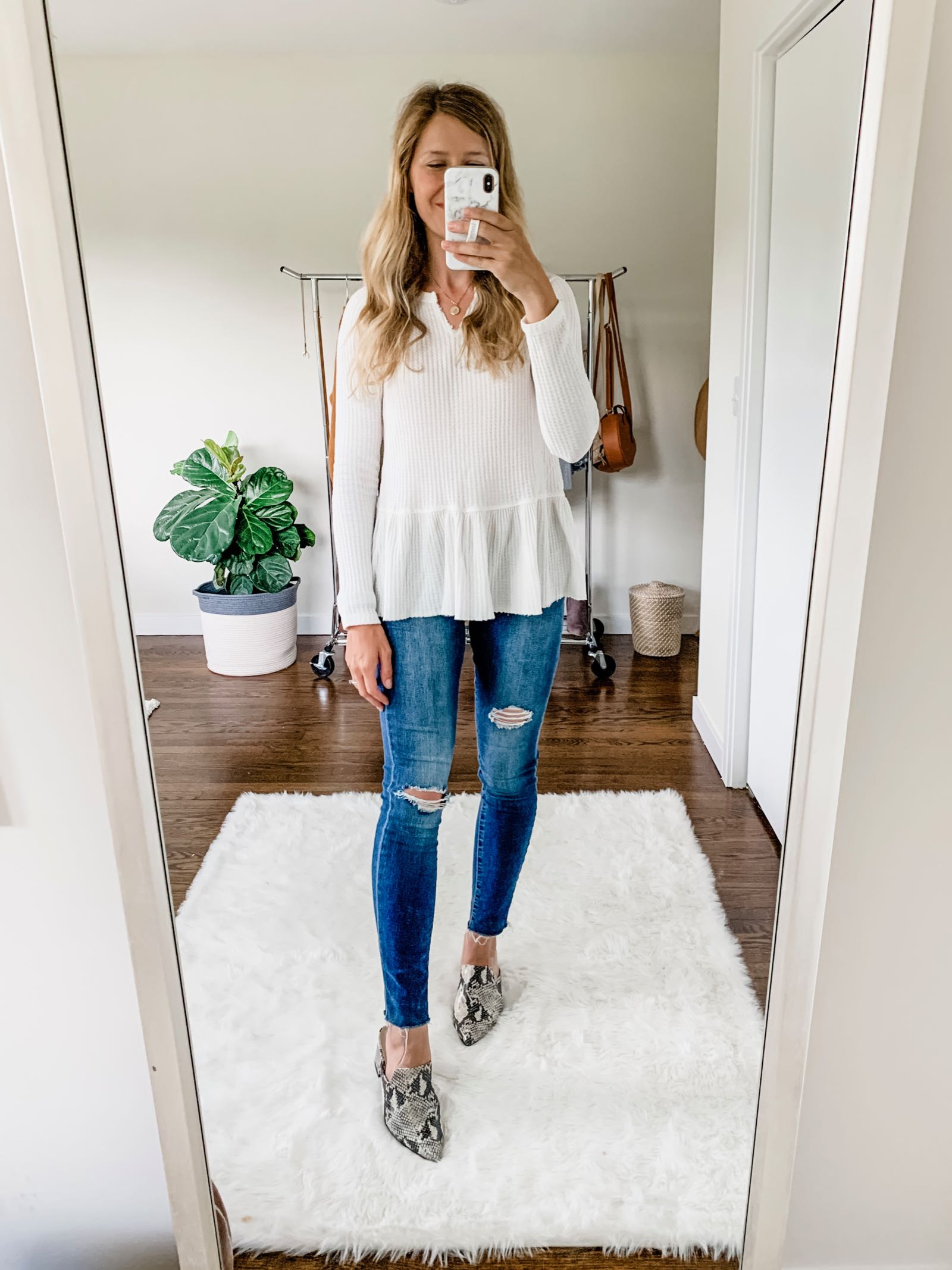 This blogger finds all the latest trends at Walmart! Looks like Nordstrom!