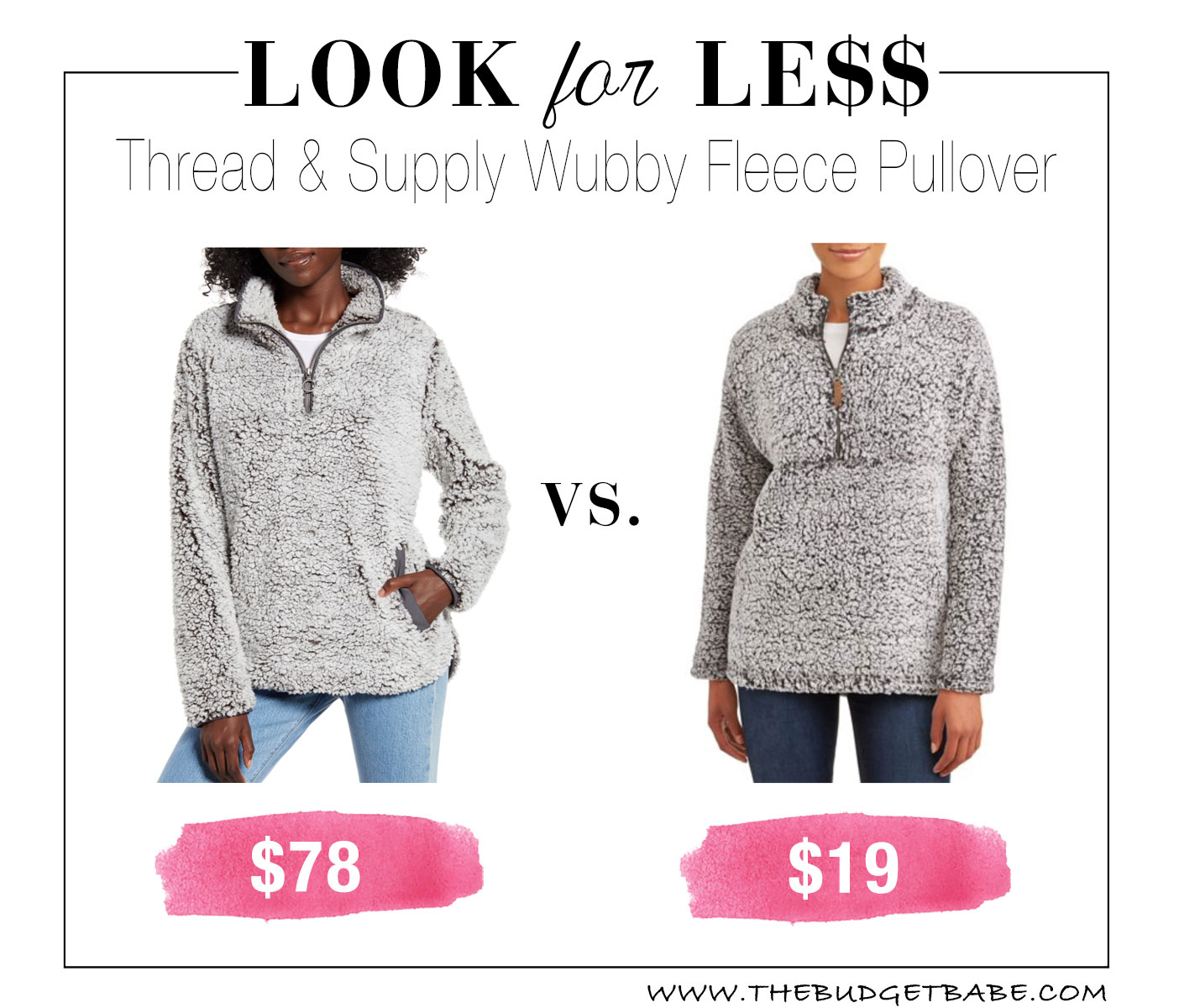 Wubby fleece dupe at Walmart just $19!