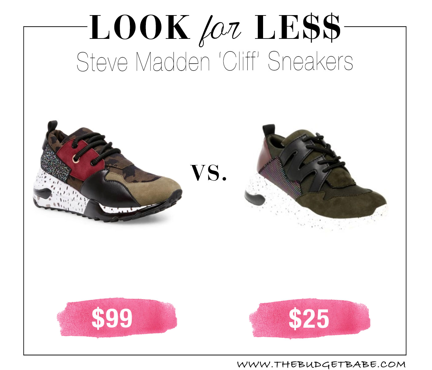 Steve Madden dupes at Walmart!