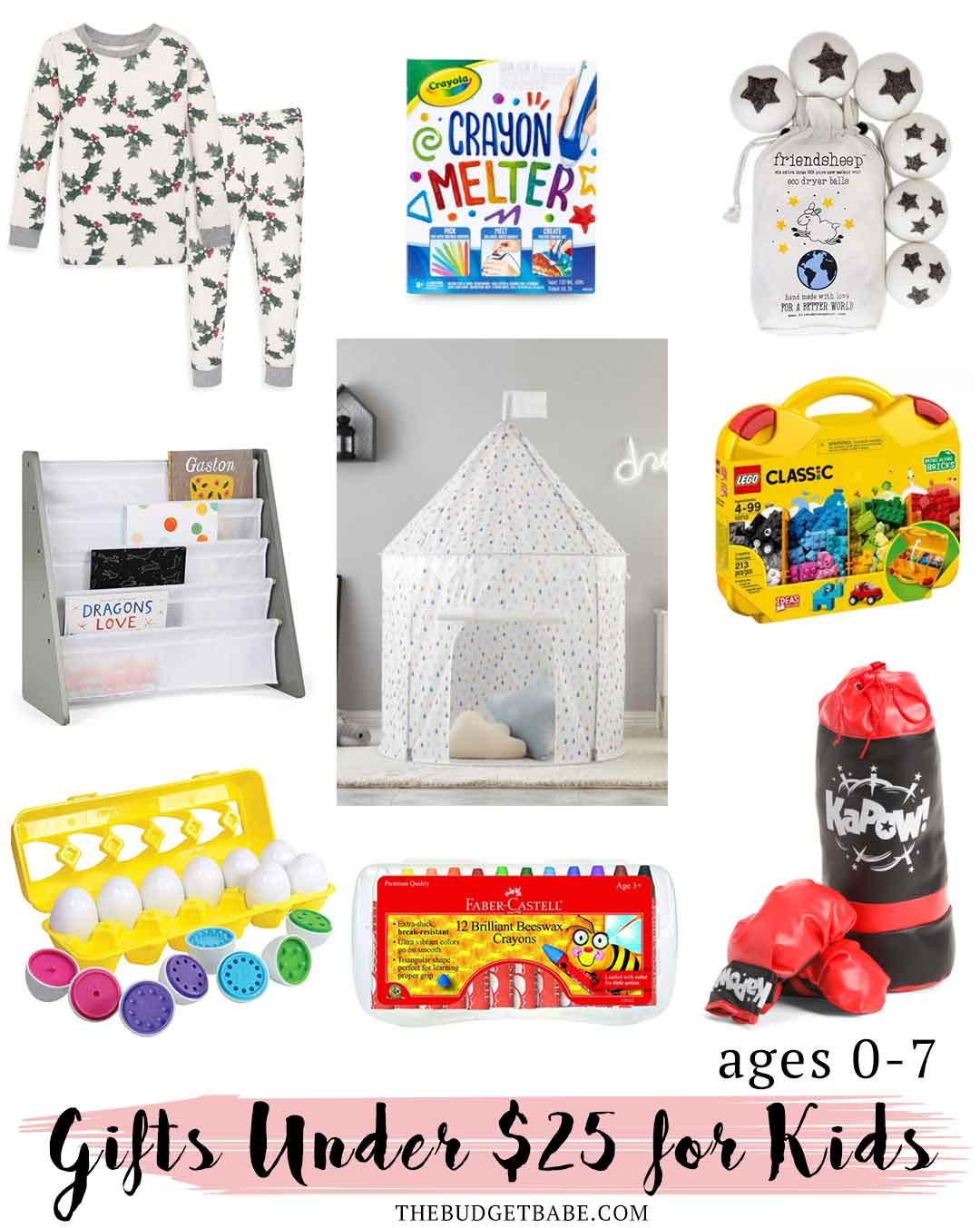 Christmas gift ideas for young kids they'll love! Under $25!