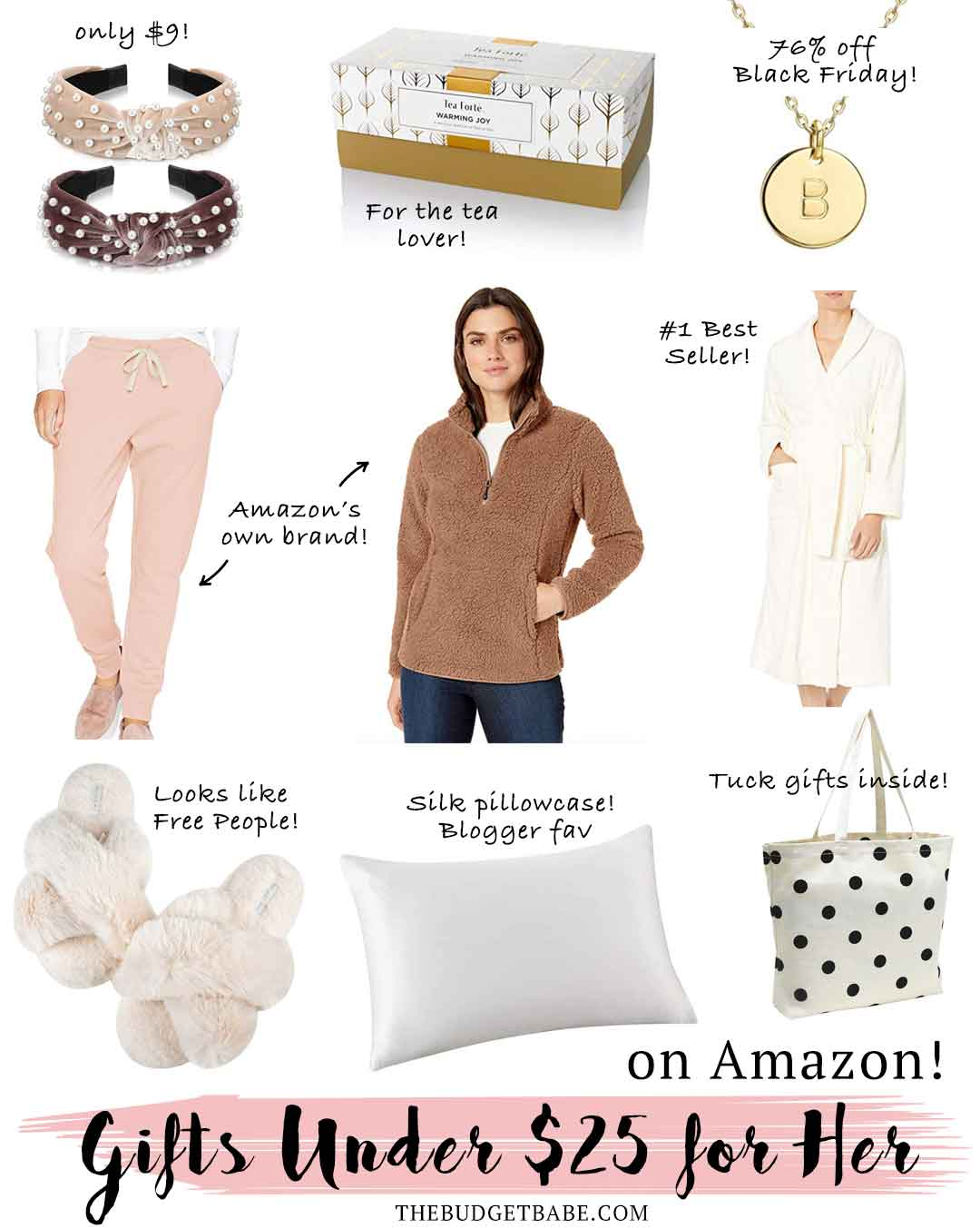 Holiday Gift Ideas Under $25 for Her on Amazon.com!
