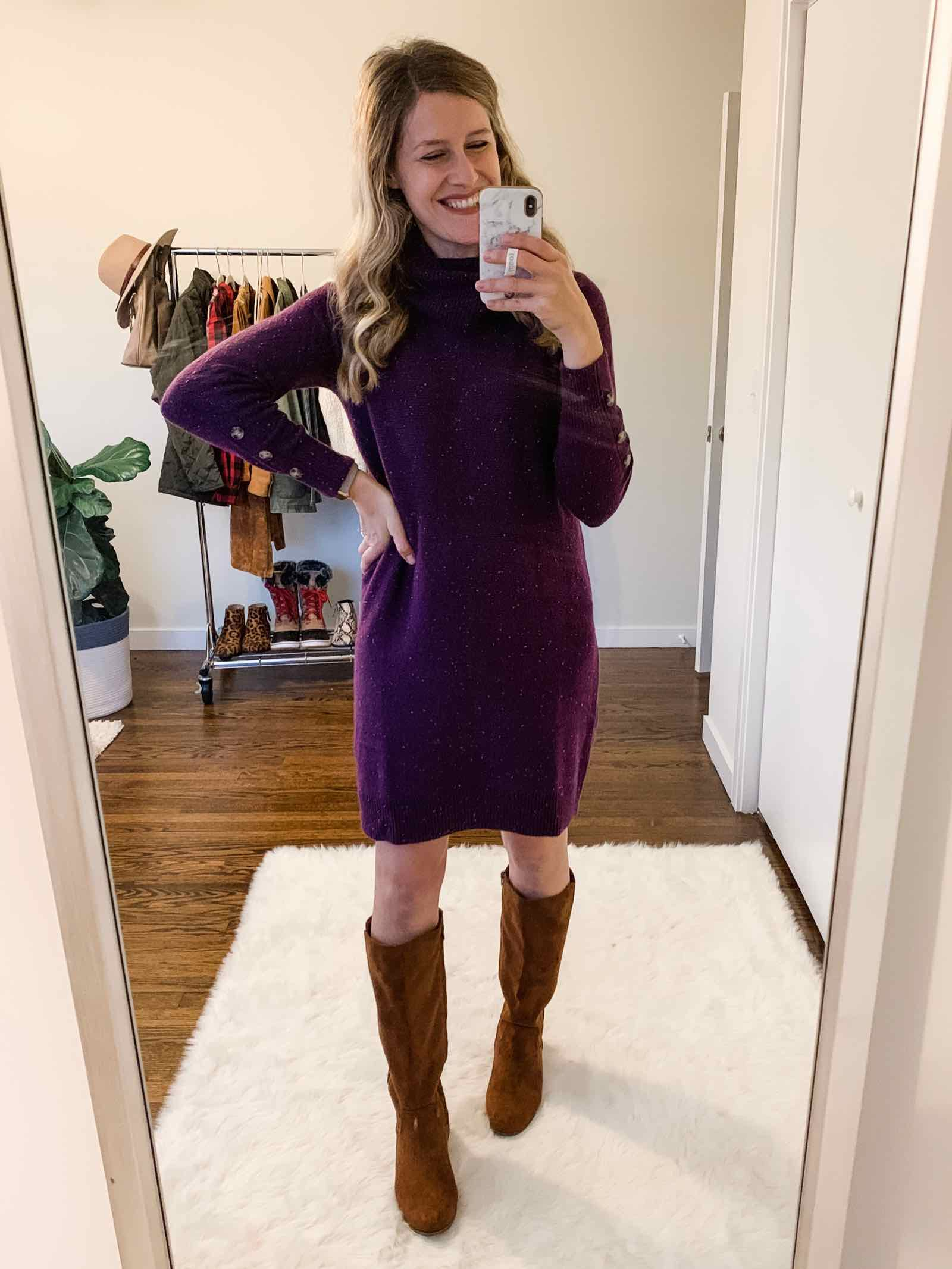 Walmart sweaterdress under $20!