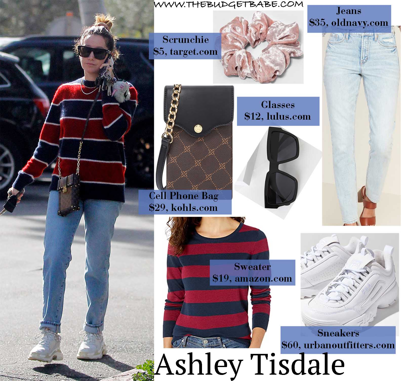Ashley Tisdale's look is our new winter uniform!