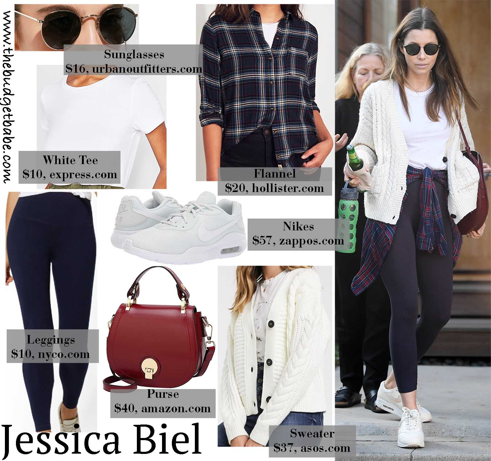 Jessica Biel mixes cozy with athleisure!