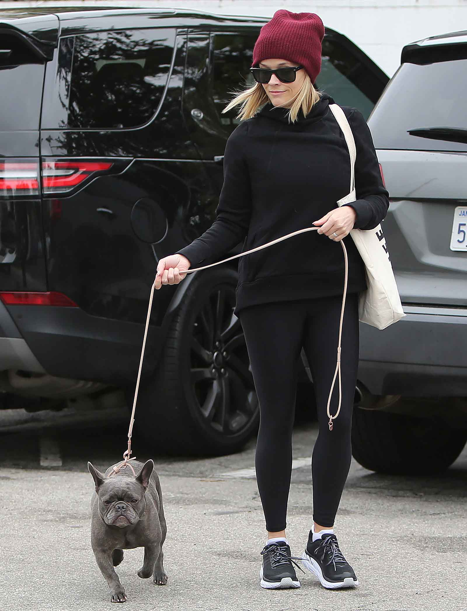 Reese Witherspoon's cute athleisure style