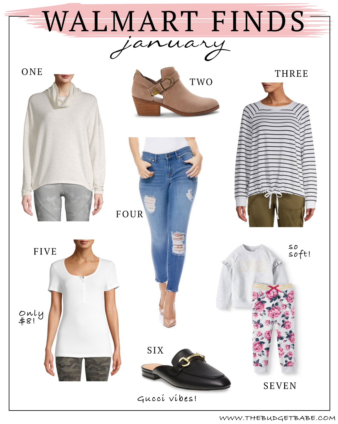 Walmart finds under $30! Fashion blog The Budget Babe finds the best things!