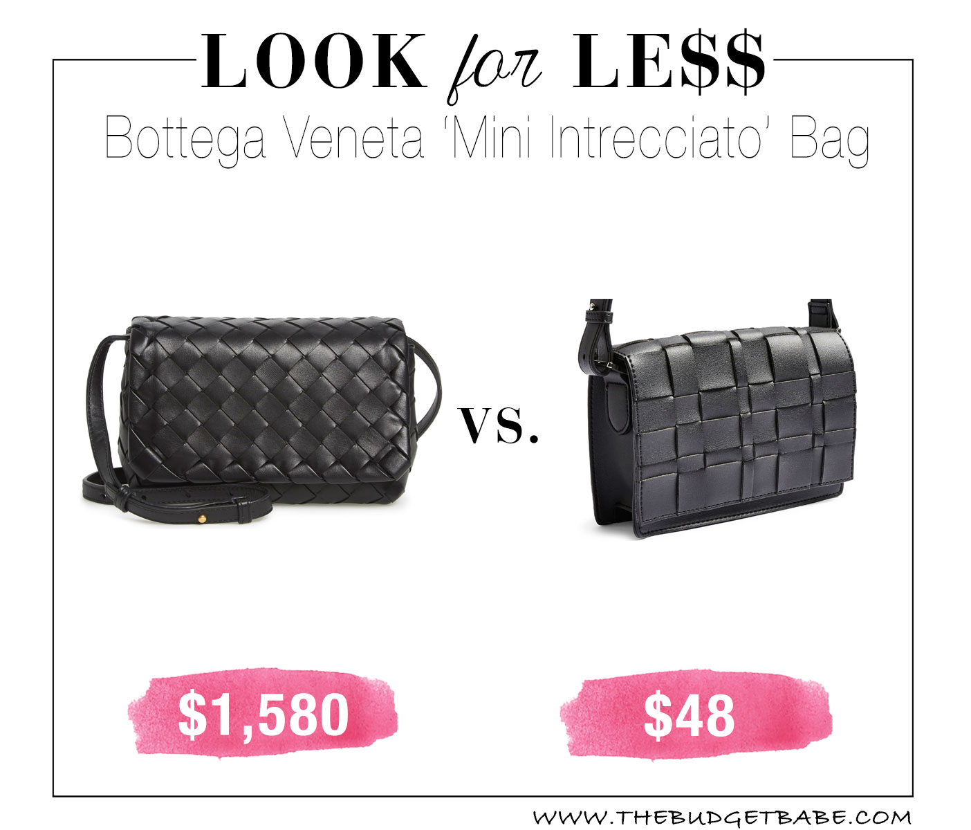 Bottega Veneta look for less by Topshop