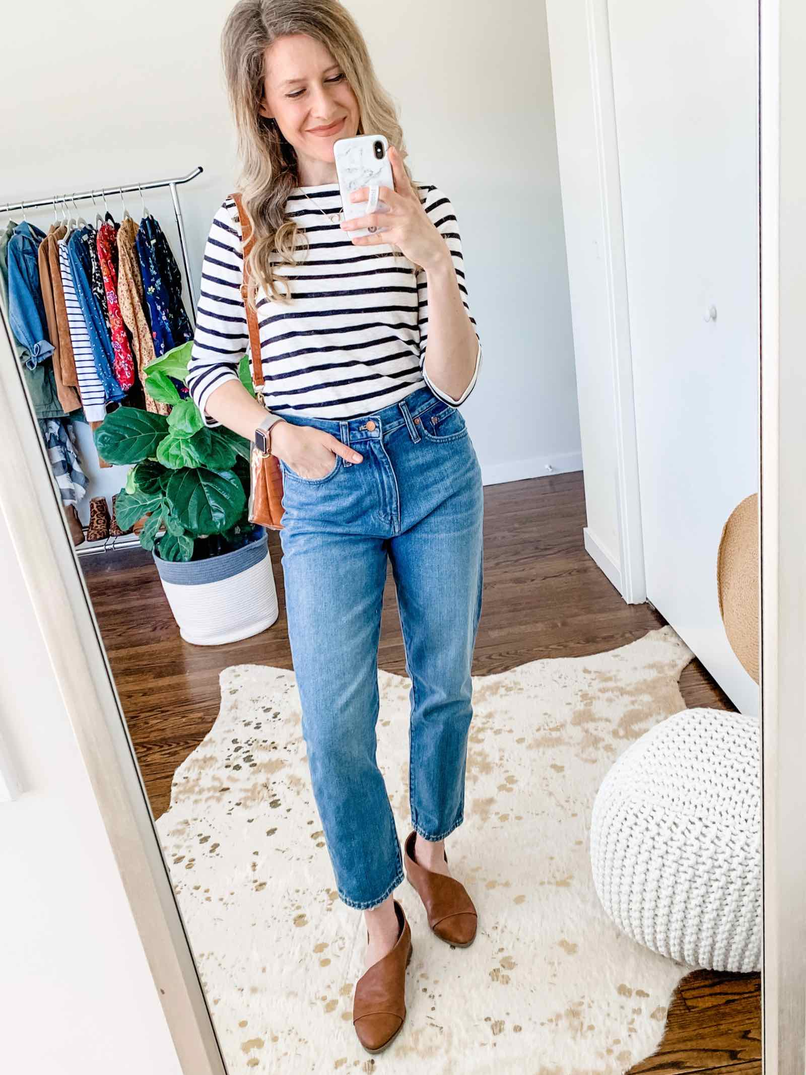 Madewell mom jeans! Now these I could wear