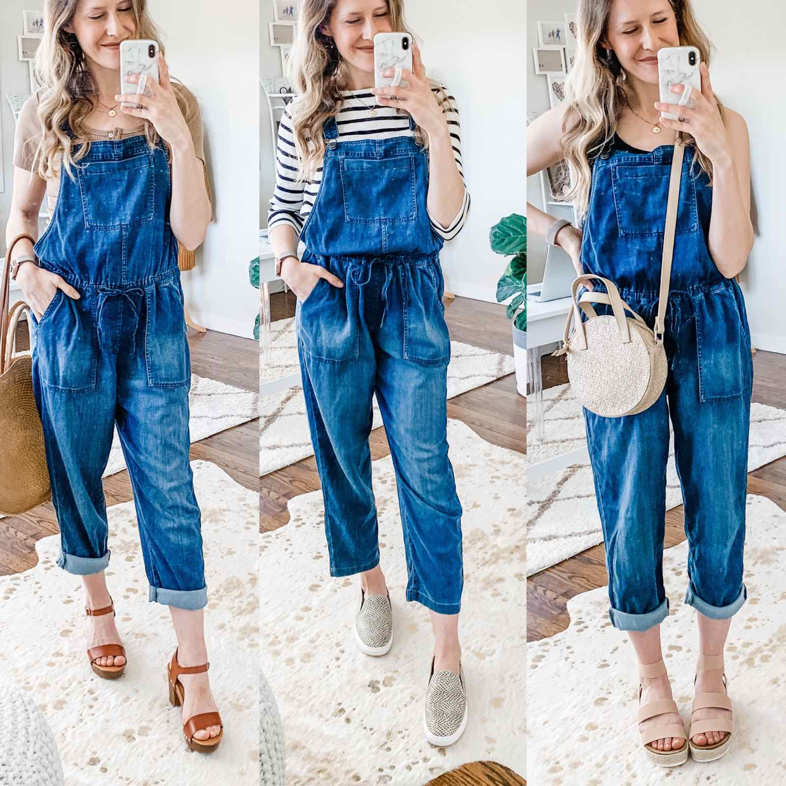 Love these overalls! $29 at Walmart