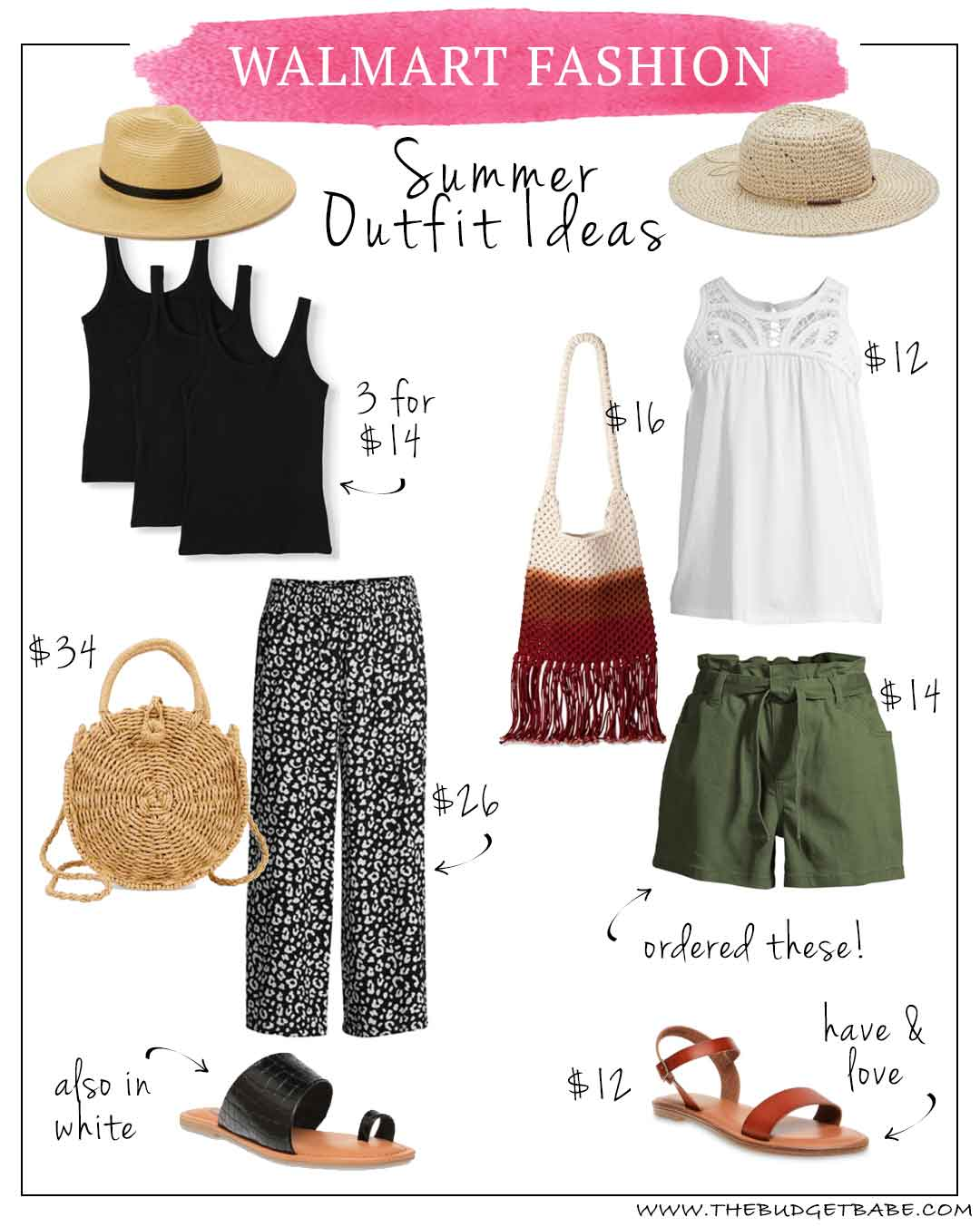 Walmart Fashion Summer Outfit Ideas for Women, Moms, Teachers Instagram Fashion Blog