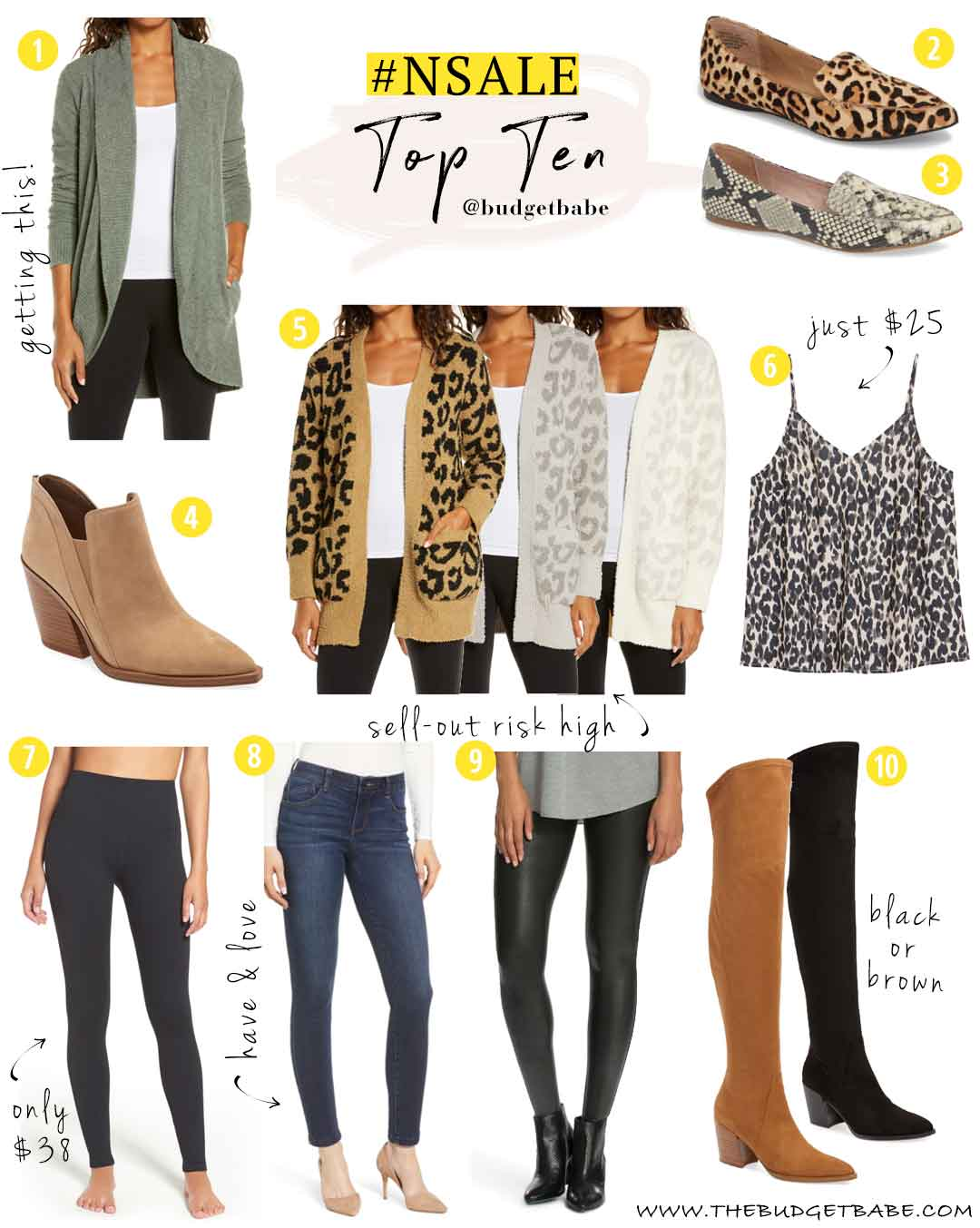 Nordstrom Anniversary Sale Budget Buys and Top Sellers!