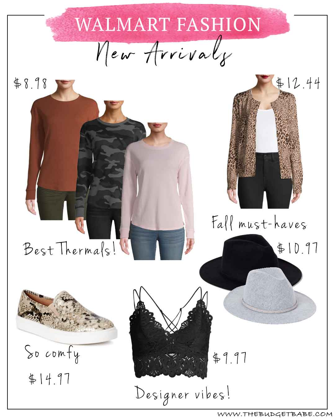 Walmart Fall Fashion Finds from just $10-$25!