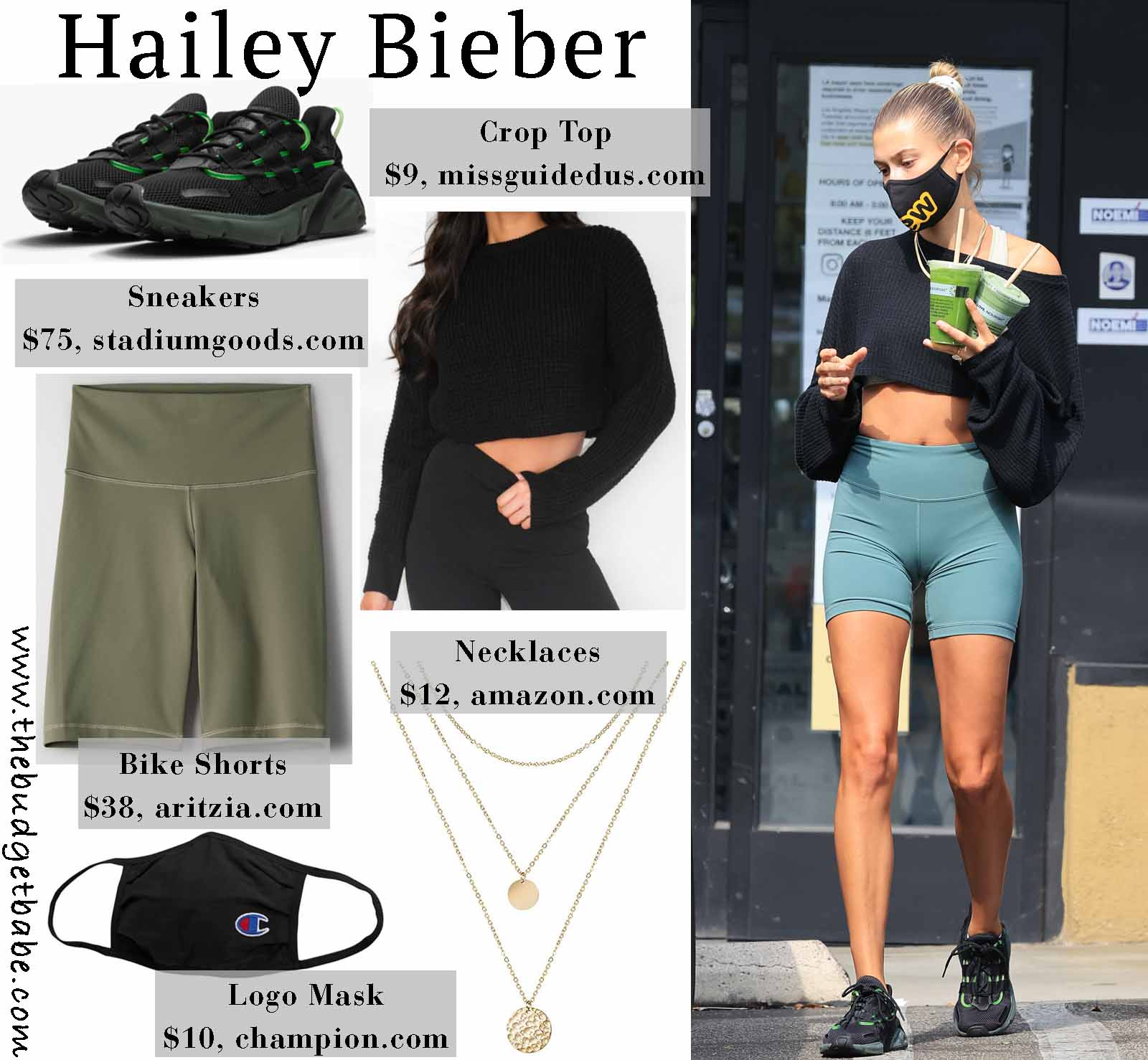 Hailey Bieber-Athlesiure Style Inspiration
