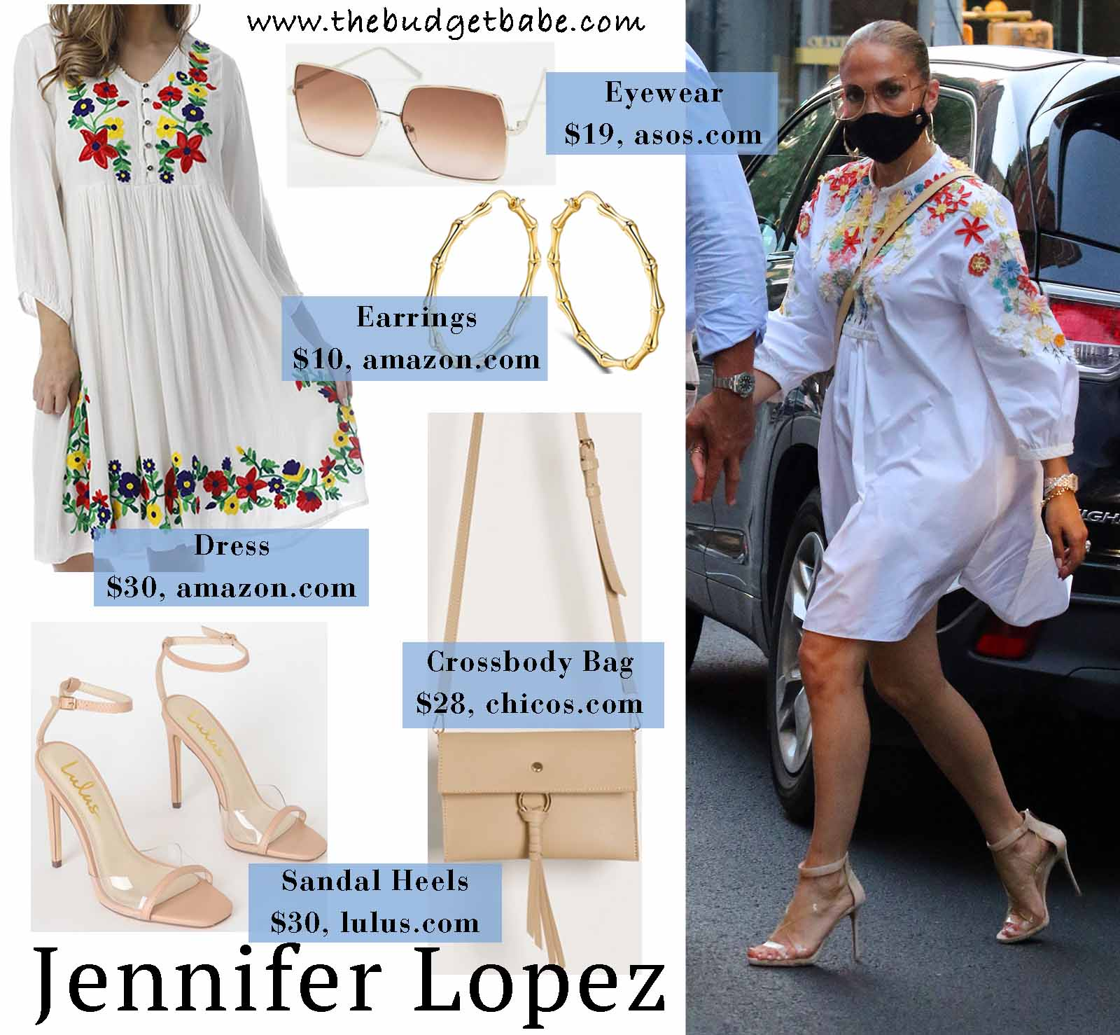 Jlo styles a Valentino dress perfectly!