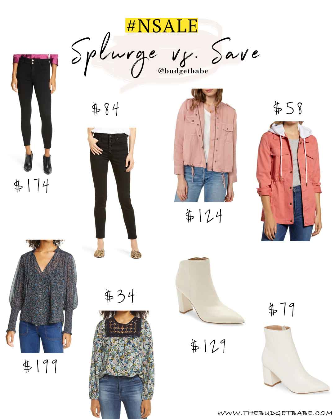 Nordstrom Anniversary Sale Splurge vs Save Fall Fashion Picks