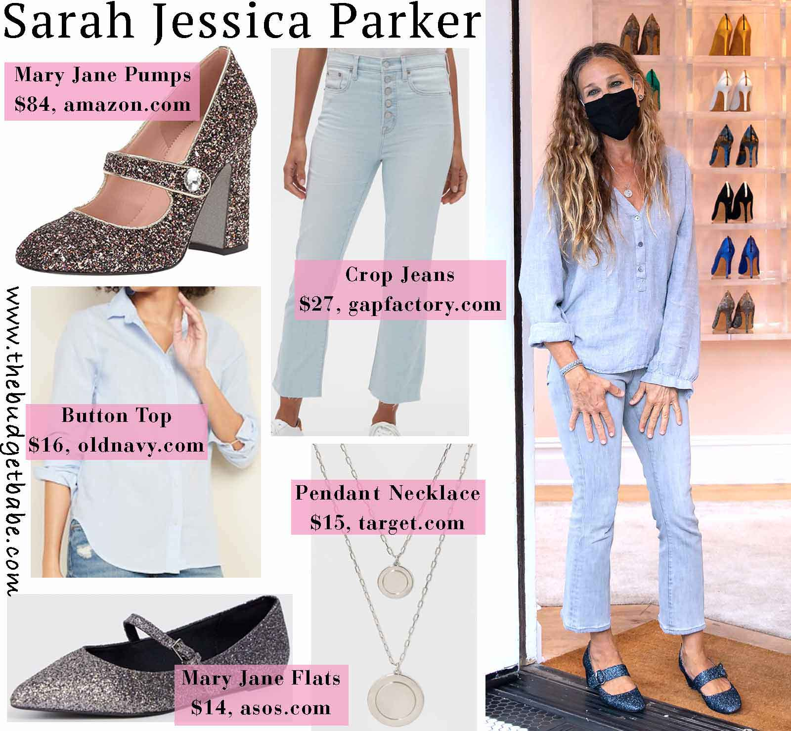 Sarah Jessica Parker look for less