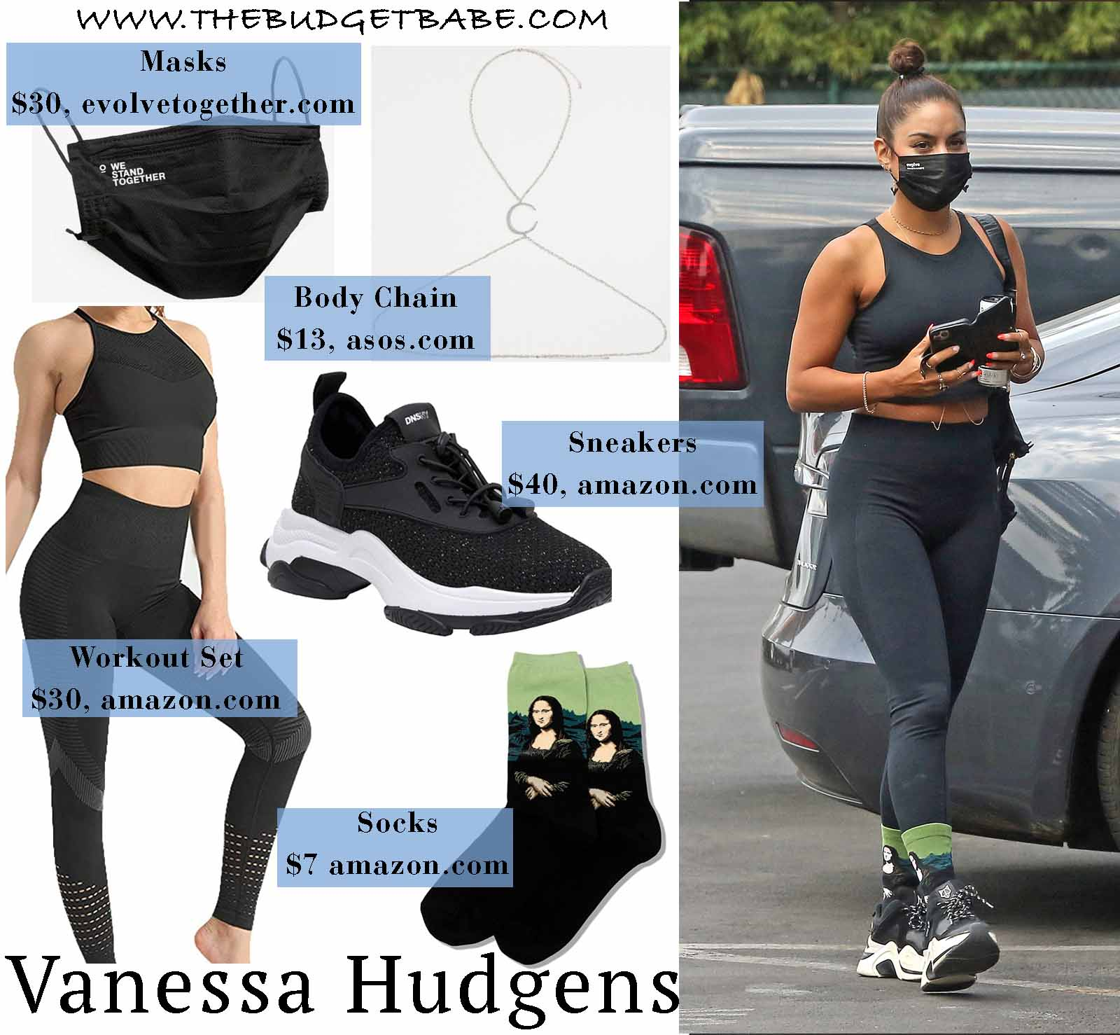 Vanessa Hudgens styles up her workout wear!