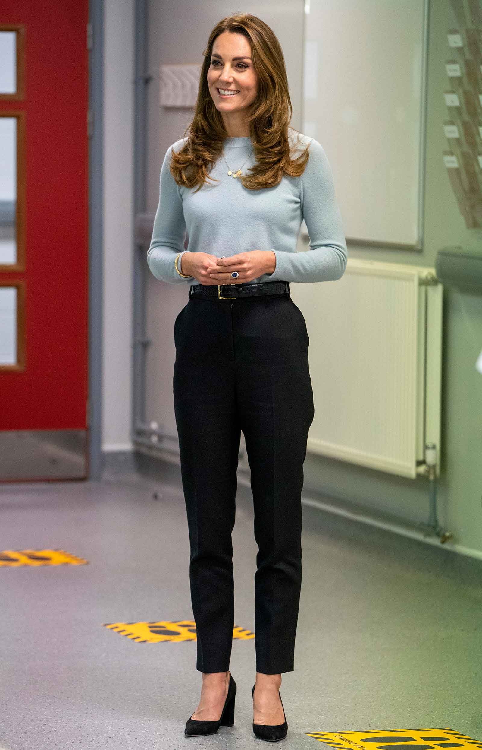 Kate Middleton fashion inspiration, business casual outfit idea for fall