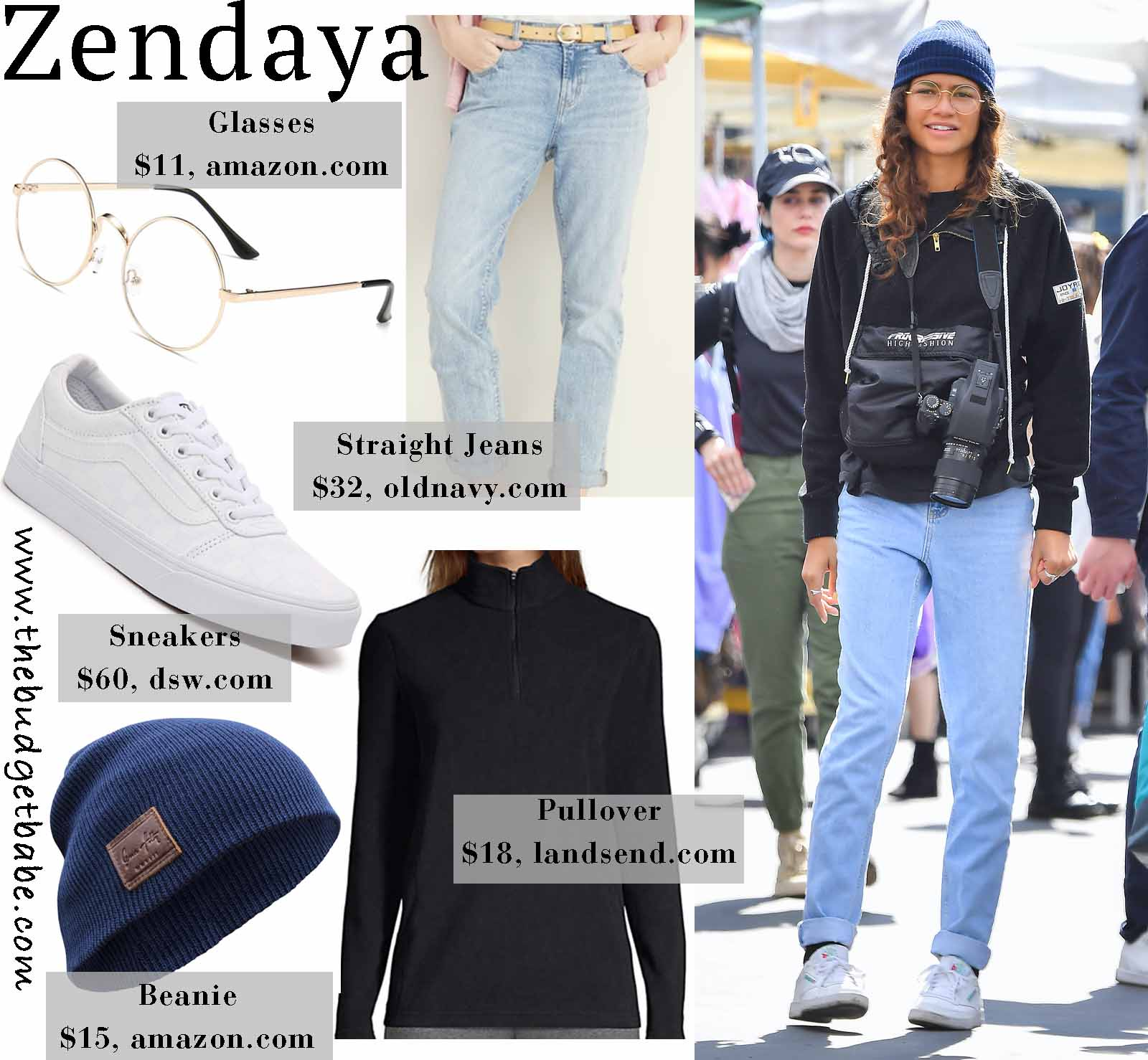 Zendaya is cute and cozy!