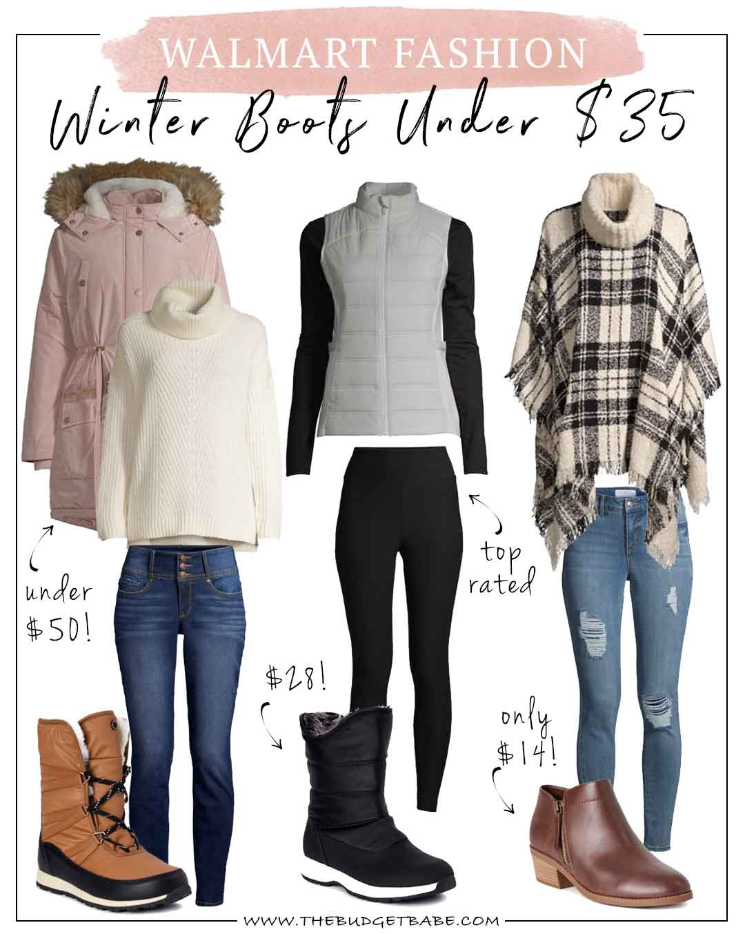 Winter Boots at Walmart From $15 to $35!